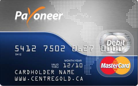 introduction to payoneer mastercard