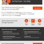 Get $25 Payoneer MasterCard Referral Bonus